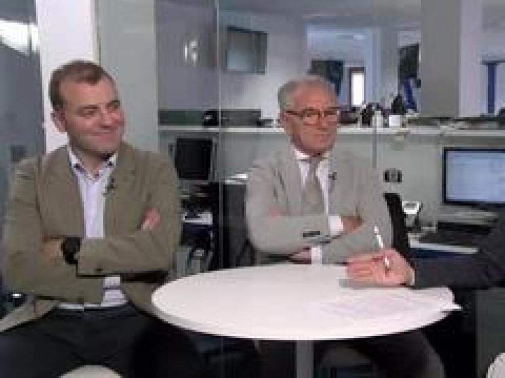 Los Doctores Carlos y Jorge Rioja, Urólogos del Hospital Viamed Montecanal, resuelven  las dudas de los lectores de Heraldo.es.