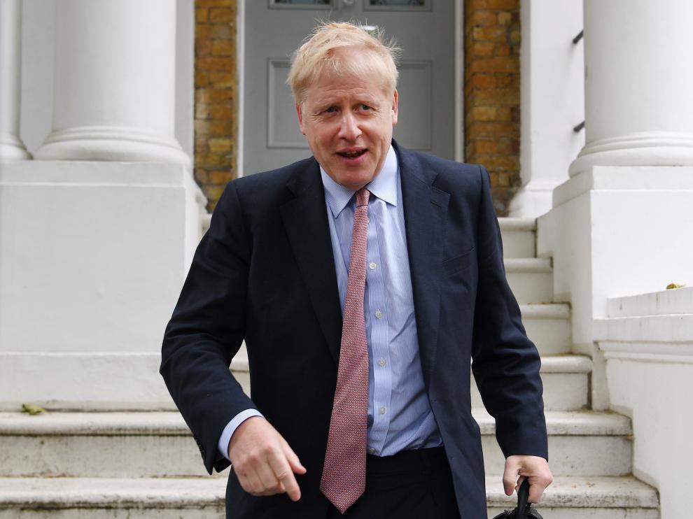 El exministro de Asuntos Exteriores británico Boris Johnson.