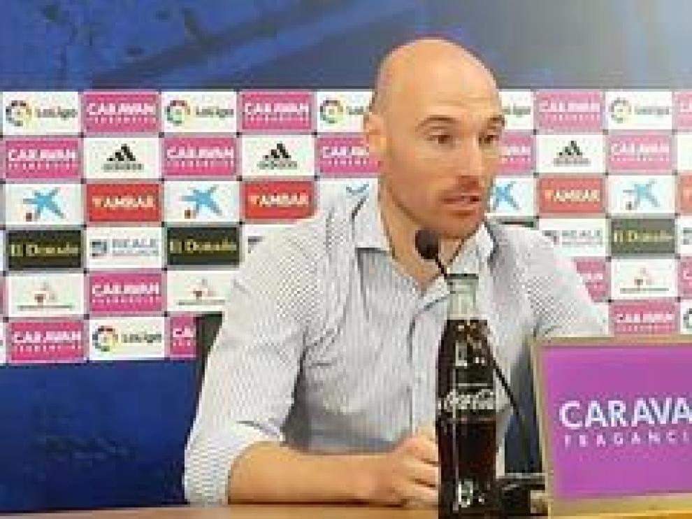 Gaizka Toquero, jugador del Real Zaragoza, se ha despedido este jueves de su carrera como futbolista.