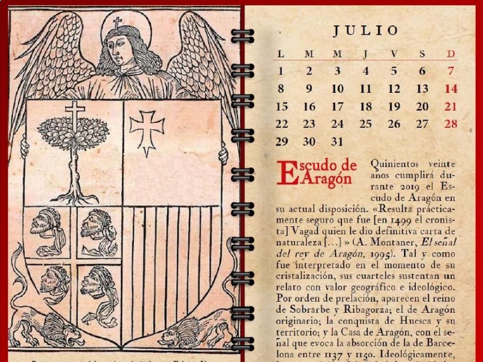 El Escudo de Aragón en la 'Crónica de Aragón'´de Fabricio Vagad (s. XV)