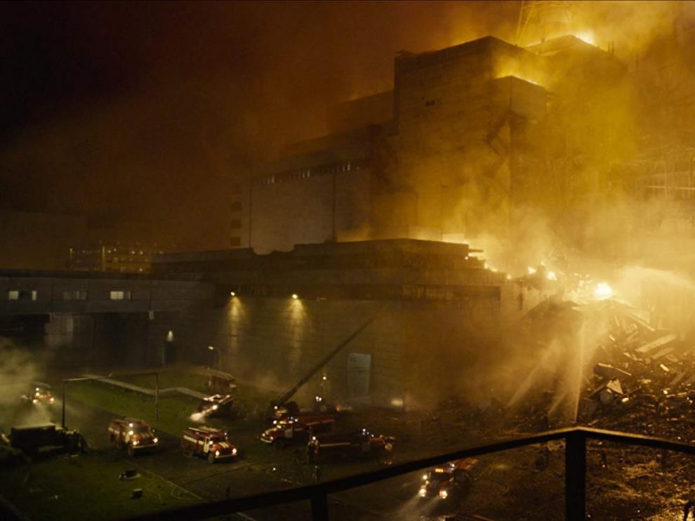 Fotograma de la serie basada en el mayor desastre nuclear de la historia europea.