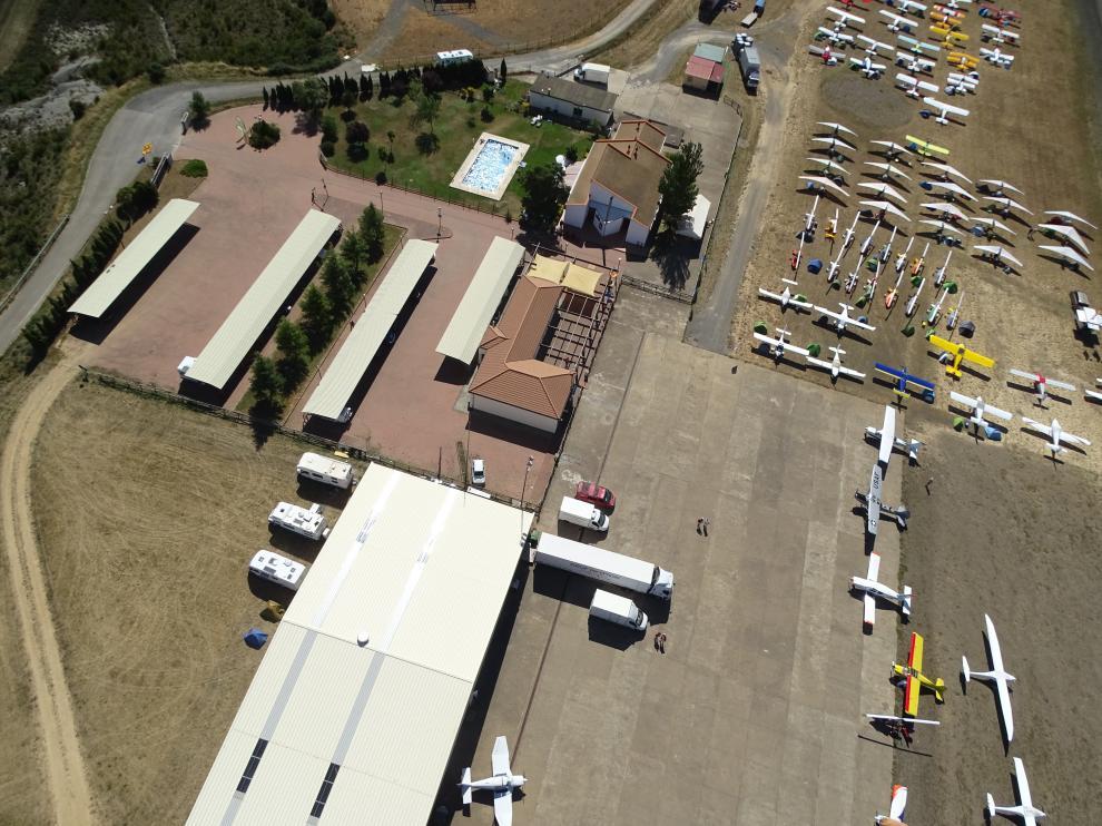 El aeródromo de Santa Cilia.