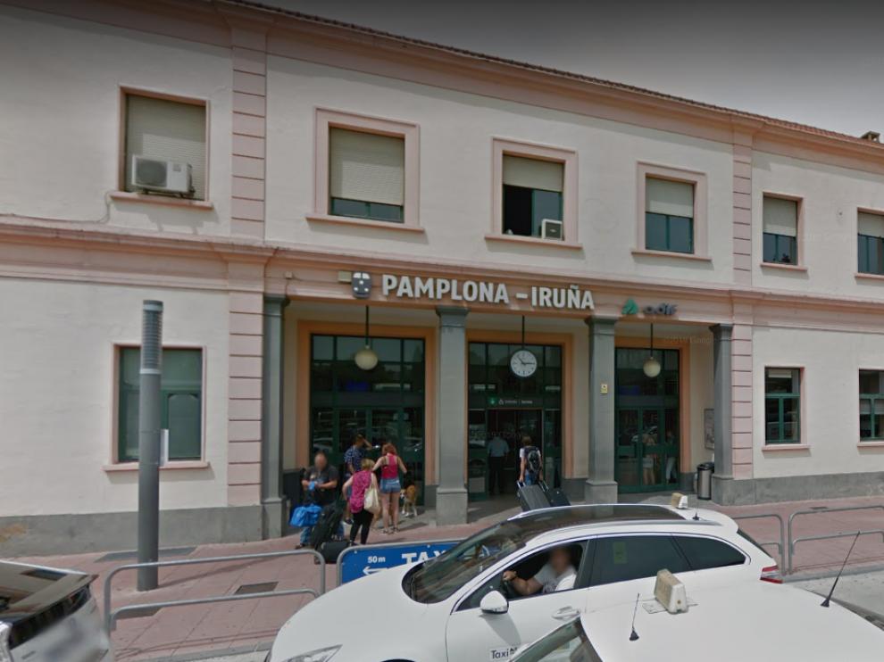 Localizaron el cadáver en la estación de Renfe de Pamplona en un lugar apartado, oculto por un vagón en desuso.