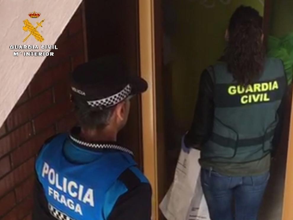 La operación la realizó la Guardia Civil en colaboración con la Policía Local.