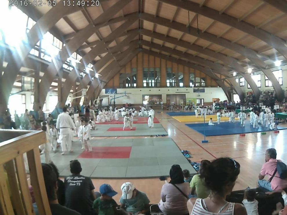 El pabellón de Benasque será la sede del VI Encuentro de Judo.