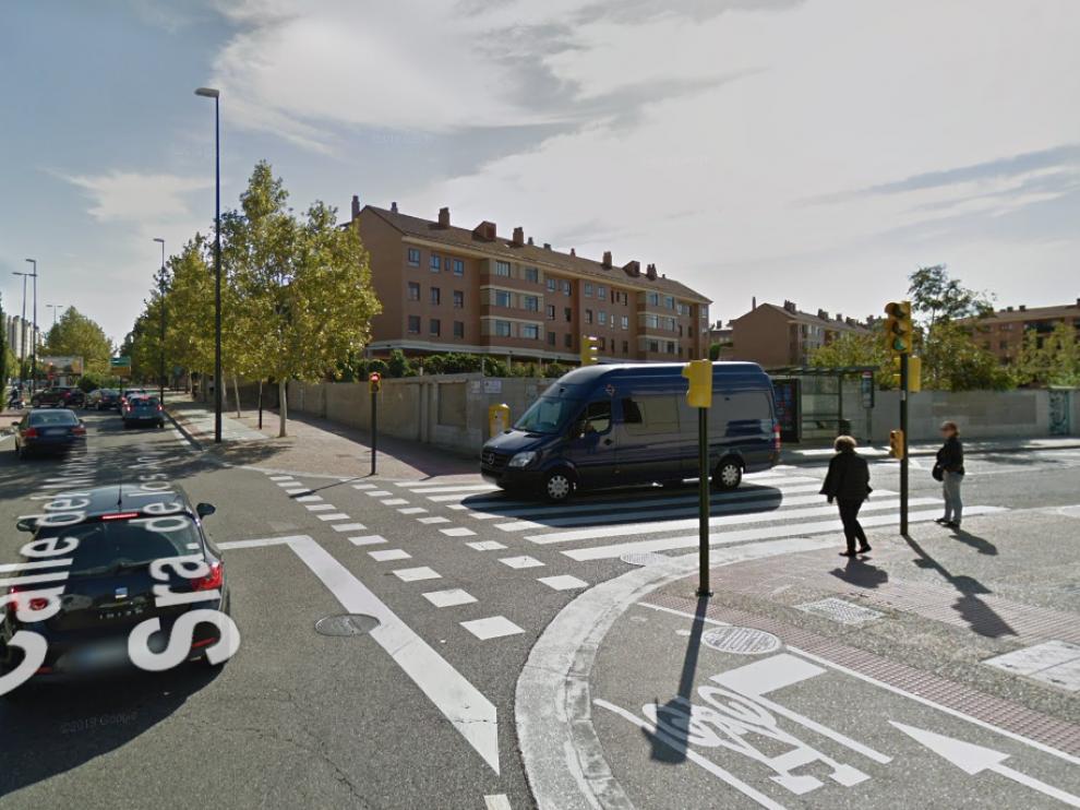 Las obras obligarán a cortar el tráfico en la calle Monasterio de Nuestra Señora de los Ángeles.