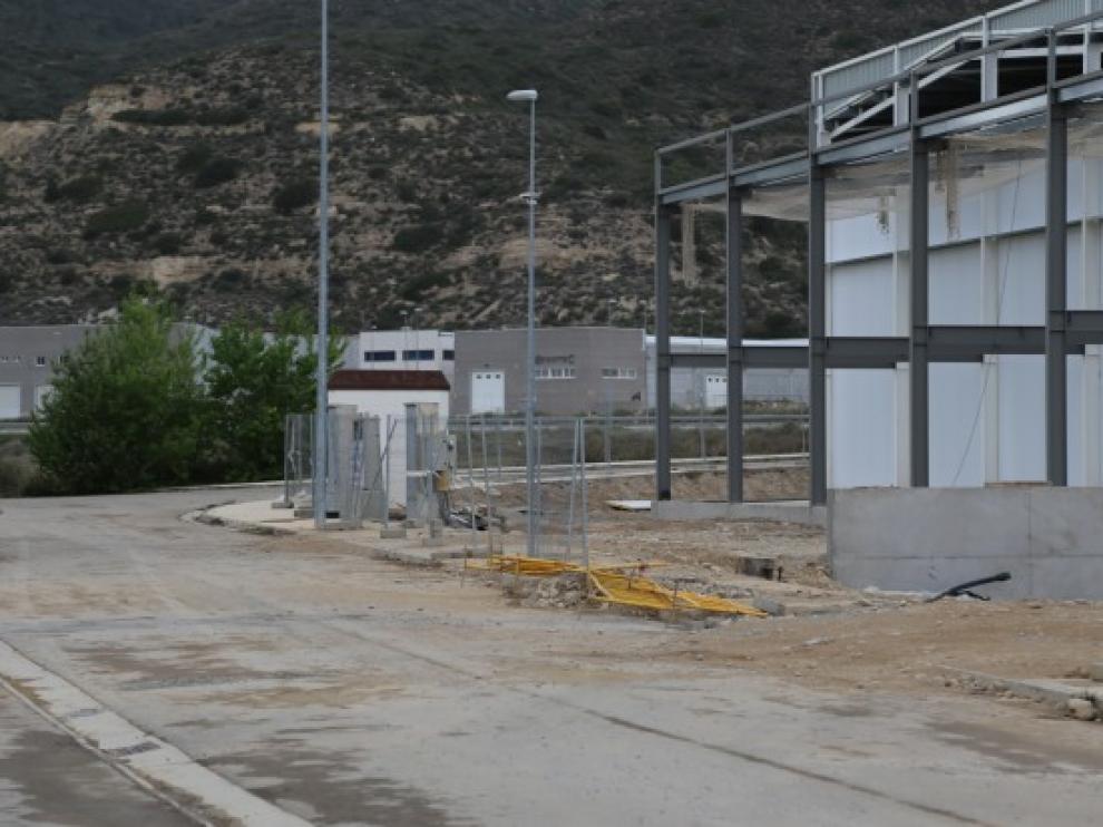 Polígono industrial de Mequinenza.