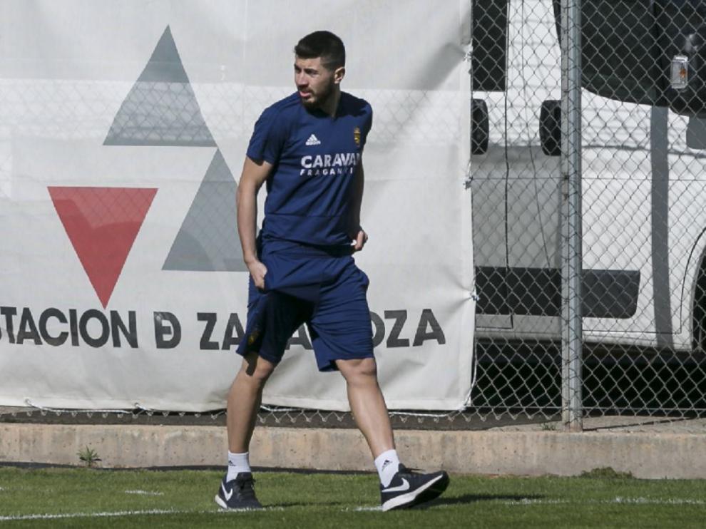 Giorgi Papunashvili, en la Ciudad Deportiva.