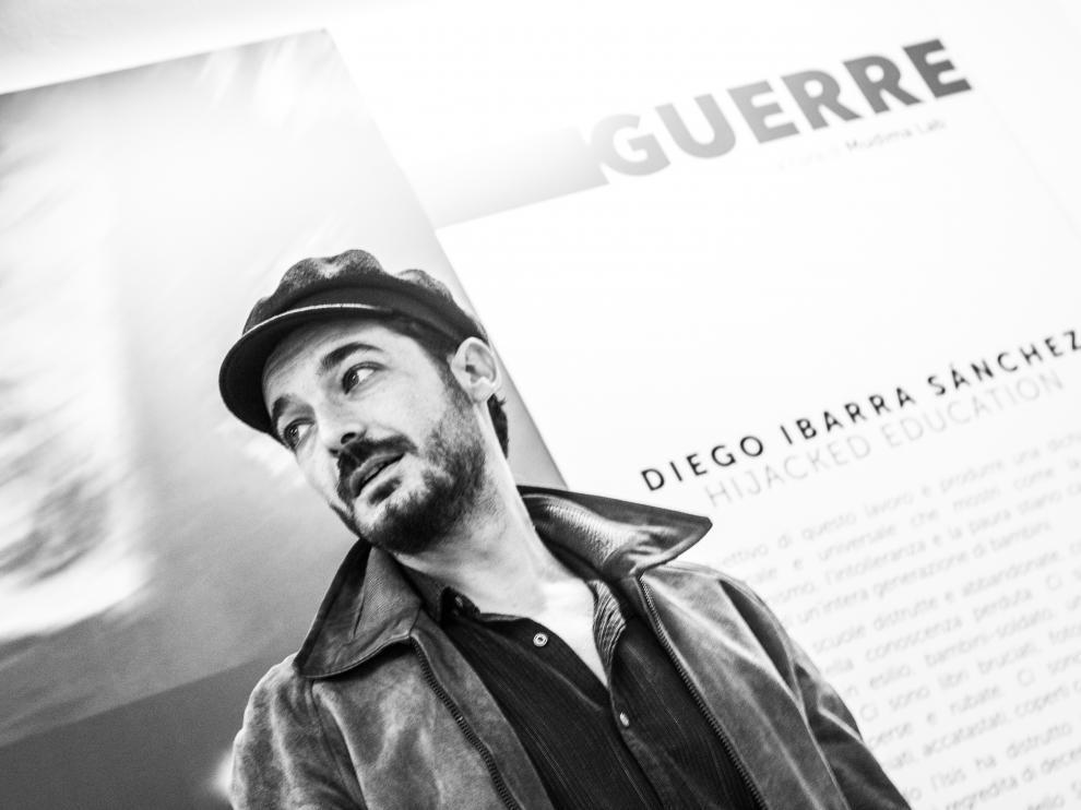 El fotoperiodista aragonés Diego Ibarra