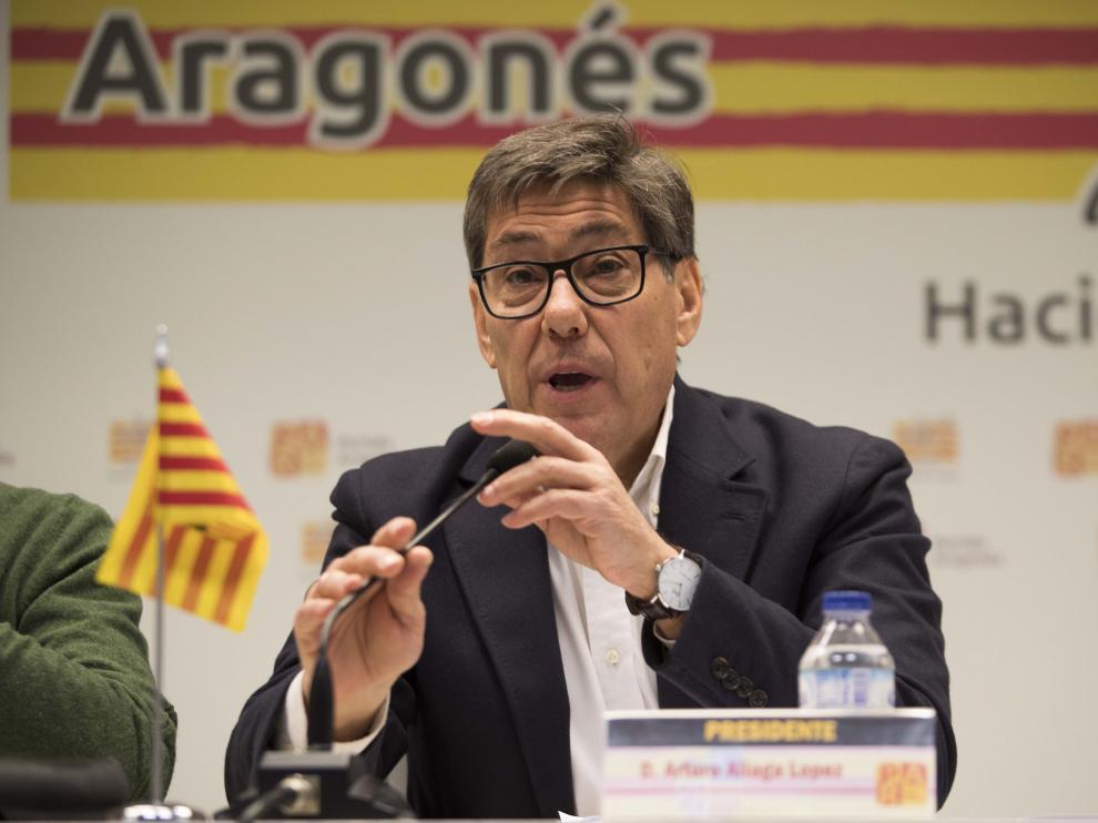 Arturo Aliaga, presidente del PAR.
