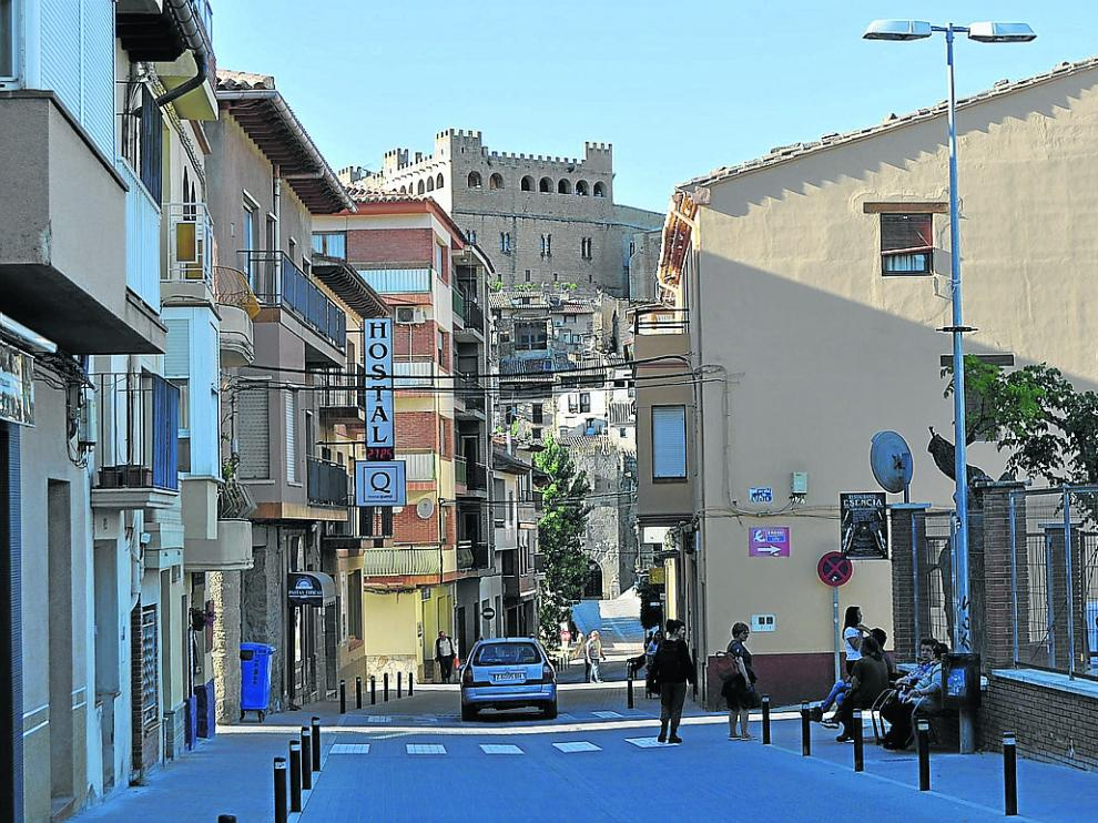 Valderrobres, cabecera comarcal del Matarraña, una comarca con baja renta per cápita.