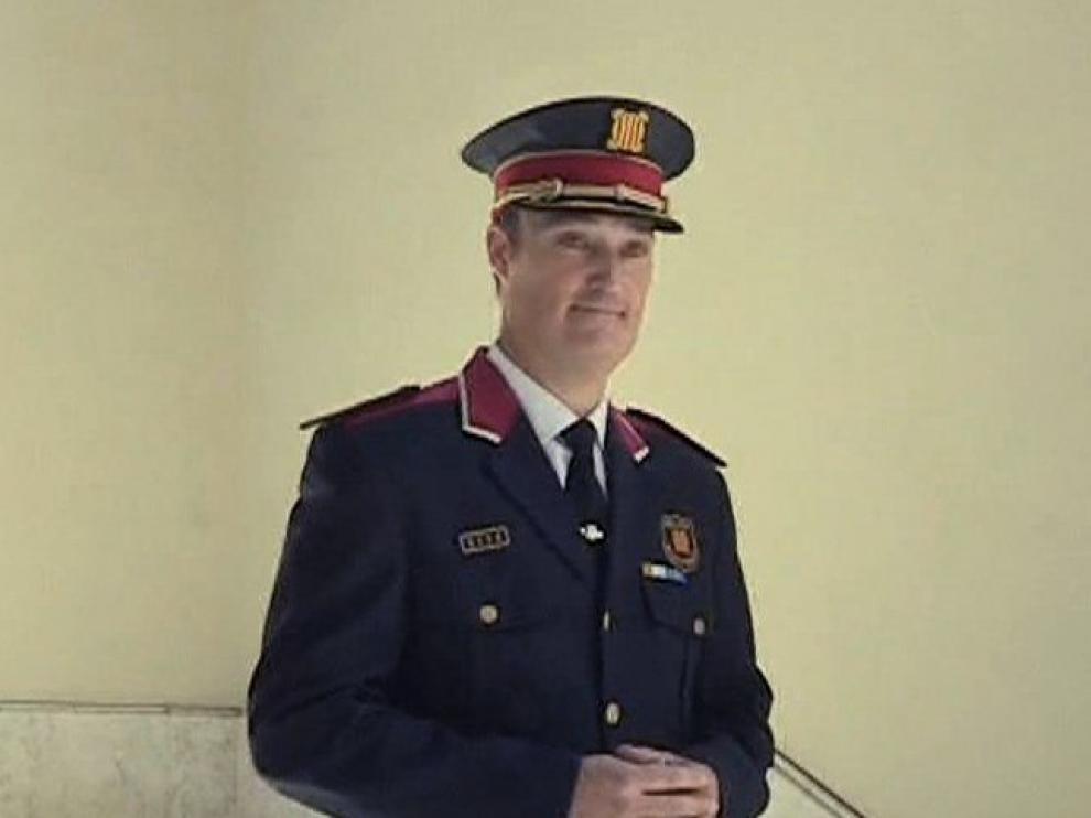 Eduard Sallent, nuevo jefe de los Mossos d´Esquadra.