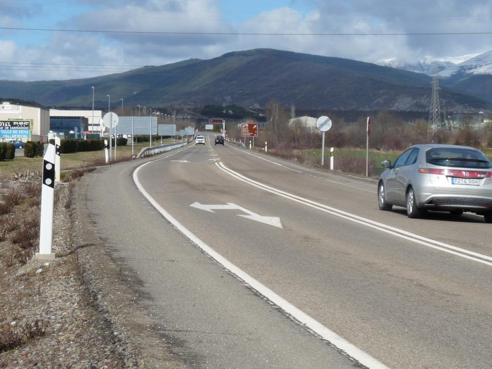 Fomento licita las obras de la variante de Sabiñánigo por 91,6 millones de euros.