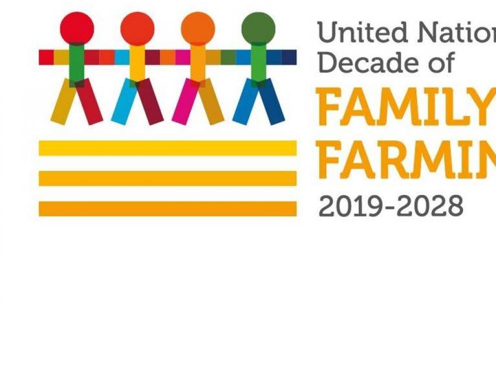 Imagen del Decenio de la Agricultura Familiar de la ONU.