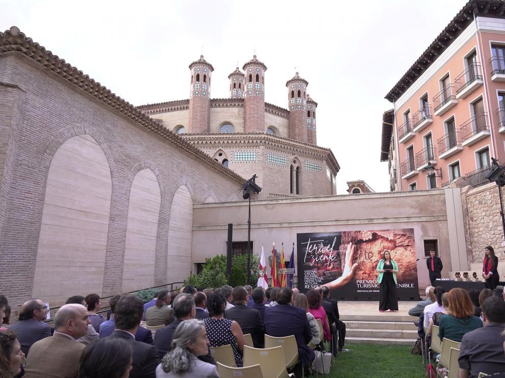 Primera edicion de premio de Turismo sostenible en Teruel. FotoAntonio Garcia/bykofoto. 03/06/19 [[[FOTOGRAFOS]]]