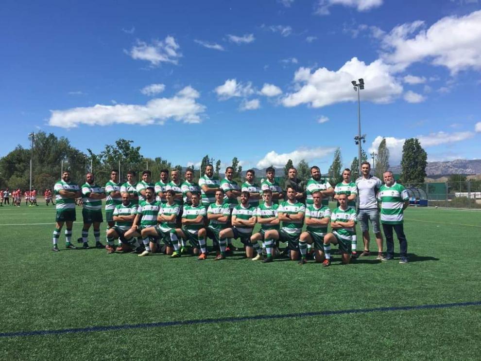 Los jugadores del conjunto masculino posan para su primera imagen oficial.