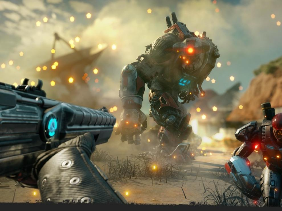 En Rage 2 deberemos enfrentarnos a enemigos de todos los tamaños