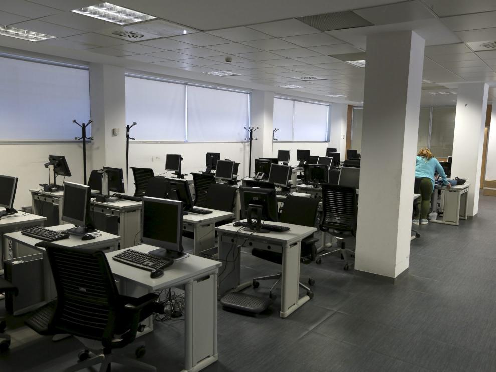 Imagen de las instalaciones del centro de digitalización de Walqa.