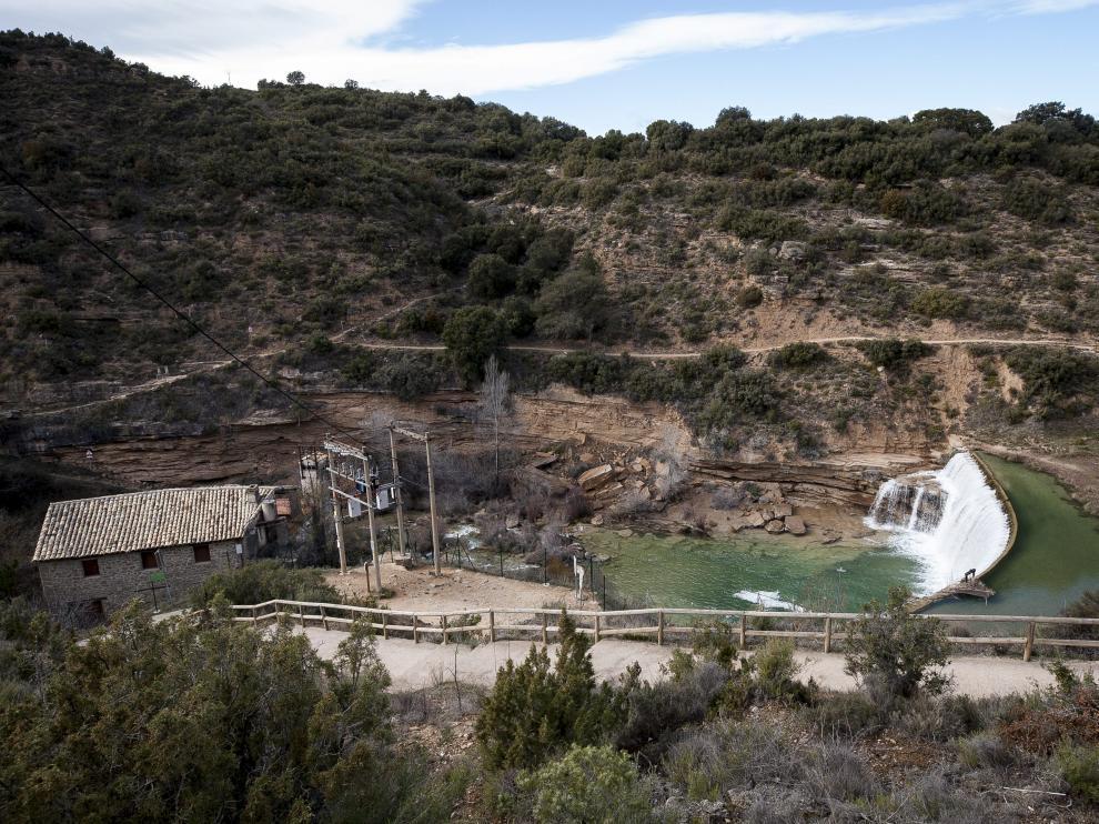 El Salto de Bierge es una de las piscinas naturales más populares de Aragón.
