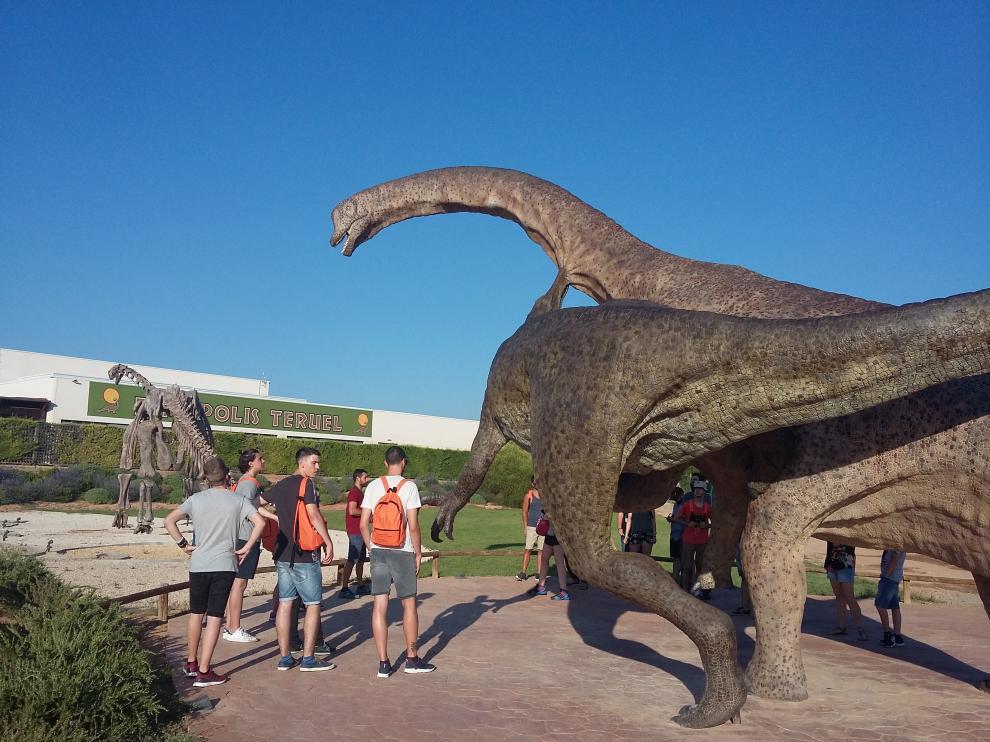 El dinozoo de los titanes turolenses