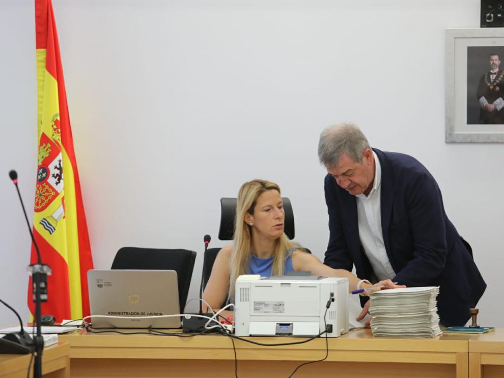 Imagen de la Junta Electoral de Huesca.
