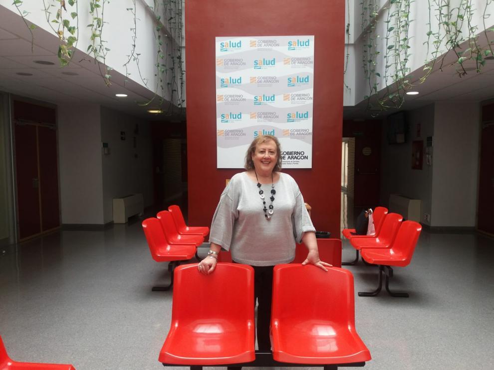 Marilourdes de Torres, supervisora de la Unidad de Nutrición y dietética del Hospital Universitario Miguel Servet de Zaragoza.