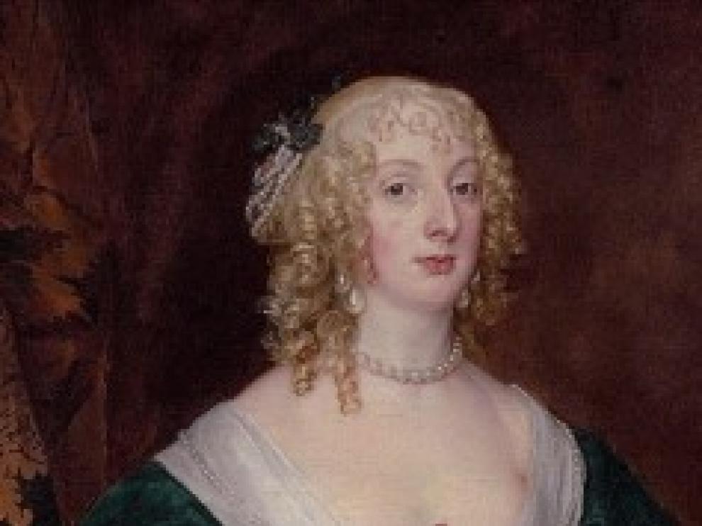 Retrato de Ana Sofía Carnarvon, de Van Dyck