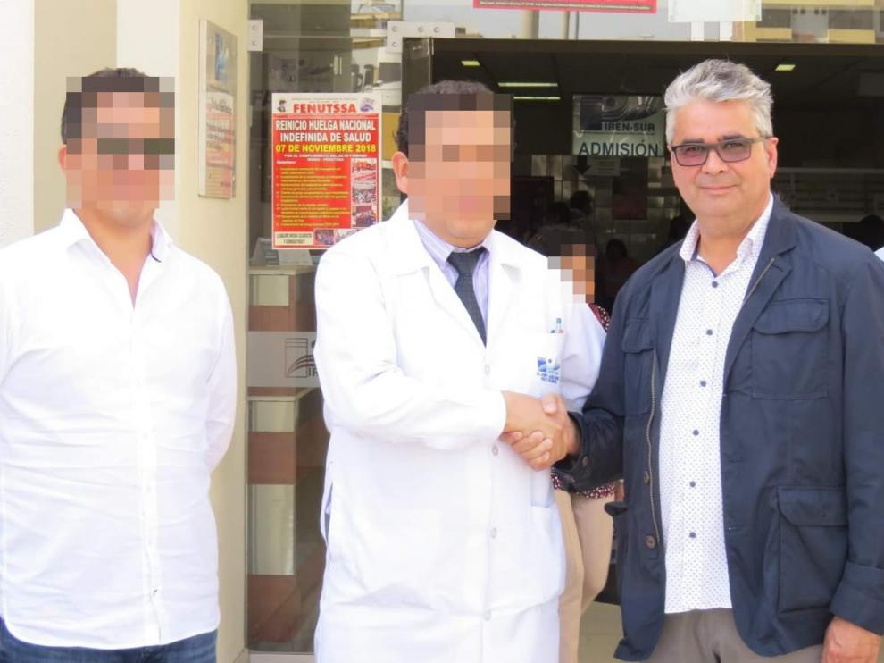 Roberto Pérez, presunto cabecilla de la trama fraudulenta del cáncer infantil en Zaragoza.