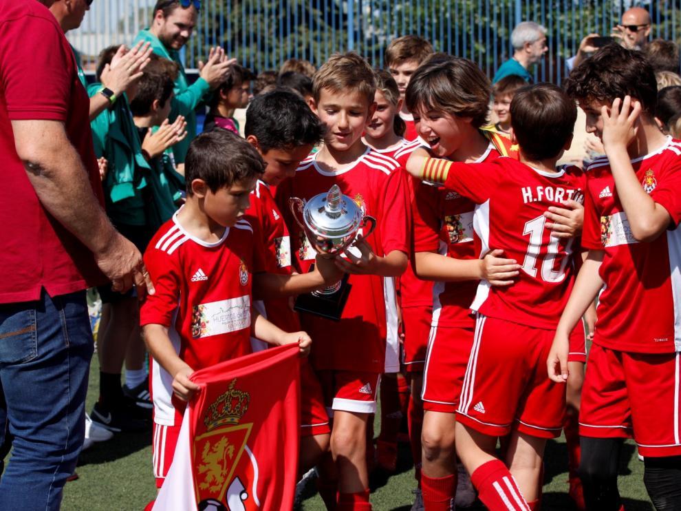 El Amistad se proclamó por penaltis vencedor de la final Copa Aragón Benjamín