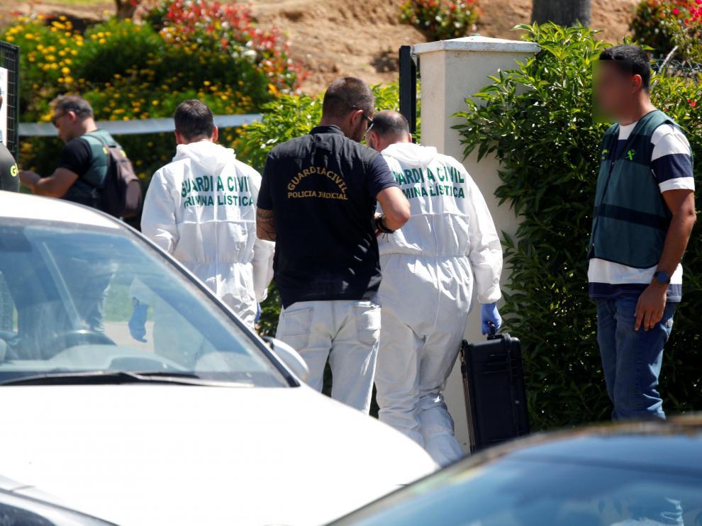 Investigan como crimen machista la muerte violenta de una pareja en Ayamonte (Huelva).