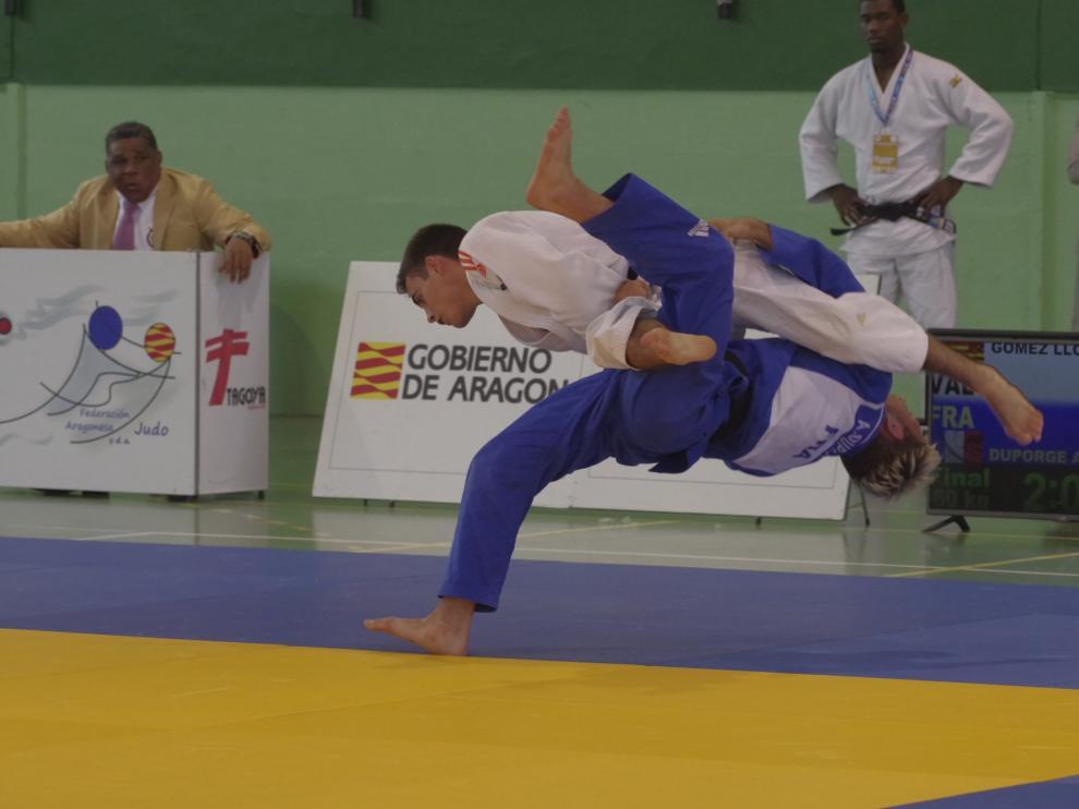 El polideportivo Olimpia de Jaca albergó la Copa de España.