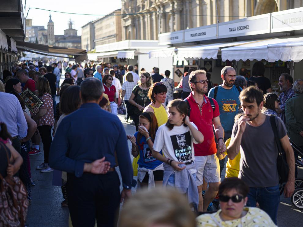 Feria del Libro de Zaragoza de 2019.
