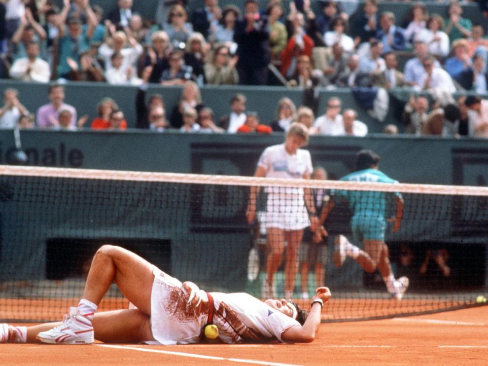 Treinta años del primer título de Arantxa en Roland Garros