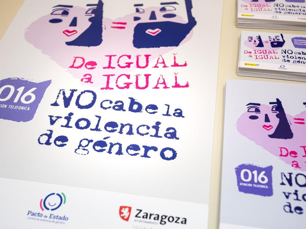 'De igual a igual', nueva campaña contra la violencia de género del Ayuntamiento de Zaragoza