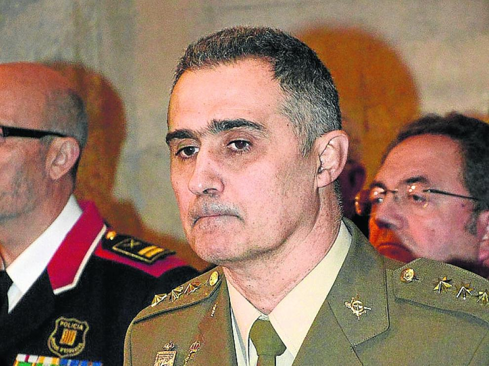 El general Javier Mur Lalaguna.