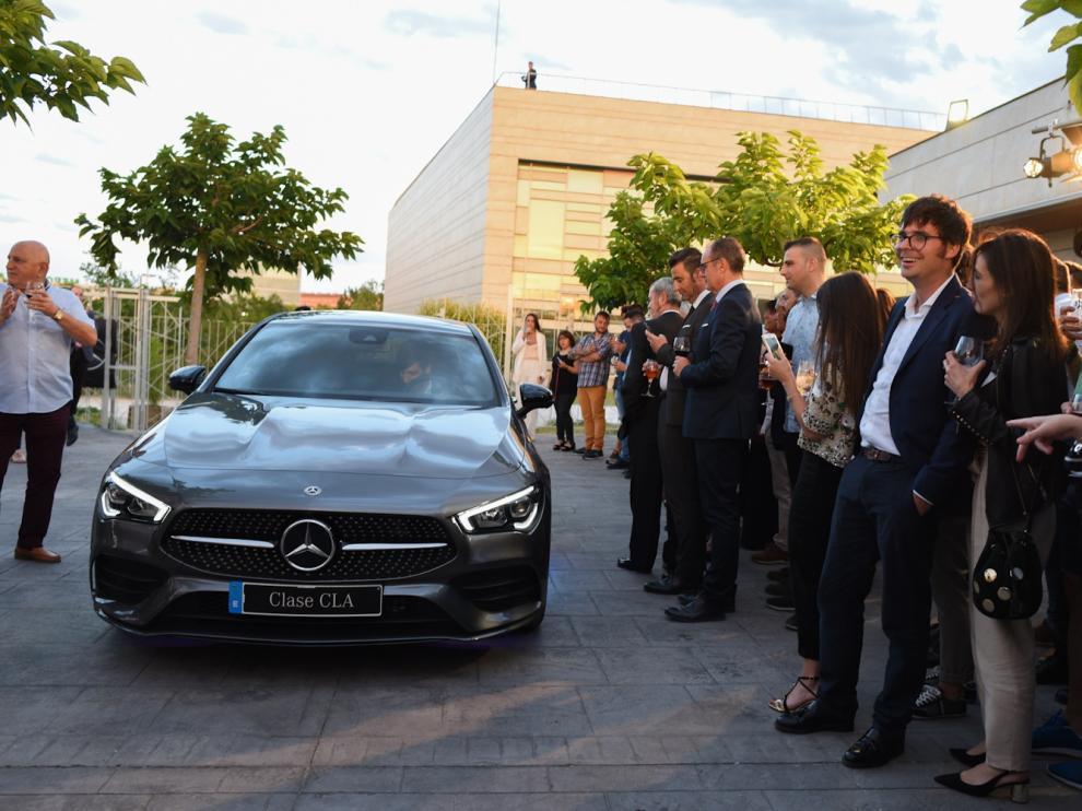 El nuevo Mercedes-Benz CLA Coupé llega  a Zaragoza.