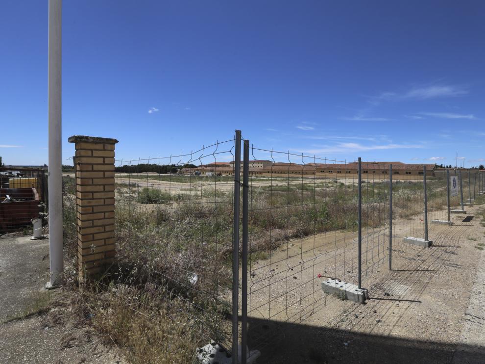 Los tinglados se construirán en la zona anexa del acuartelamiento que ha cedido el Ayuntamiento de Huesca al Ministerio.