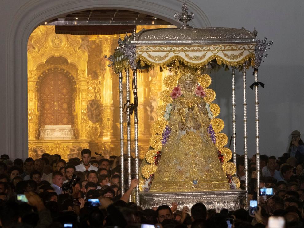 Virgen de El Rocío.