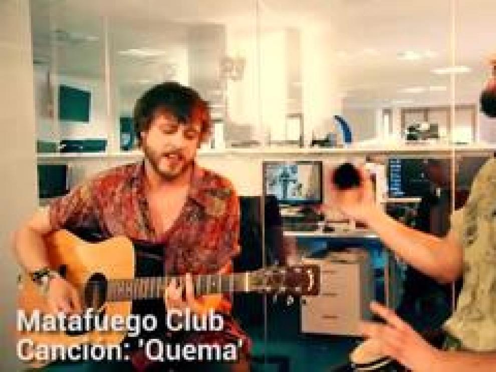 El grupo zaragozano Matafuego Club presenta su primer single