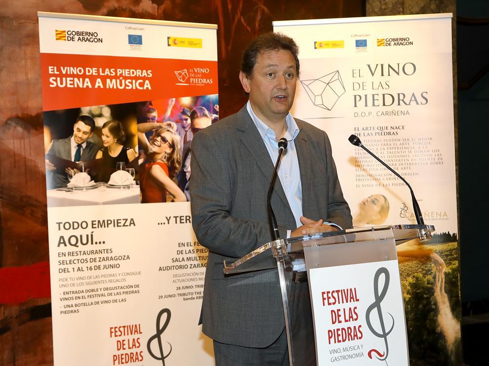 Ignacio Casamitjana, presidente del Consejo Regulador de la Denominación de Origen Protegida Cariñena.