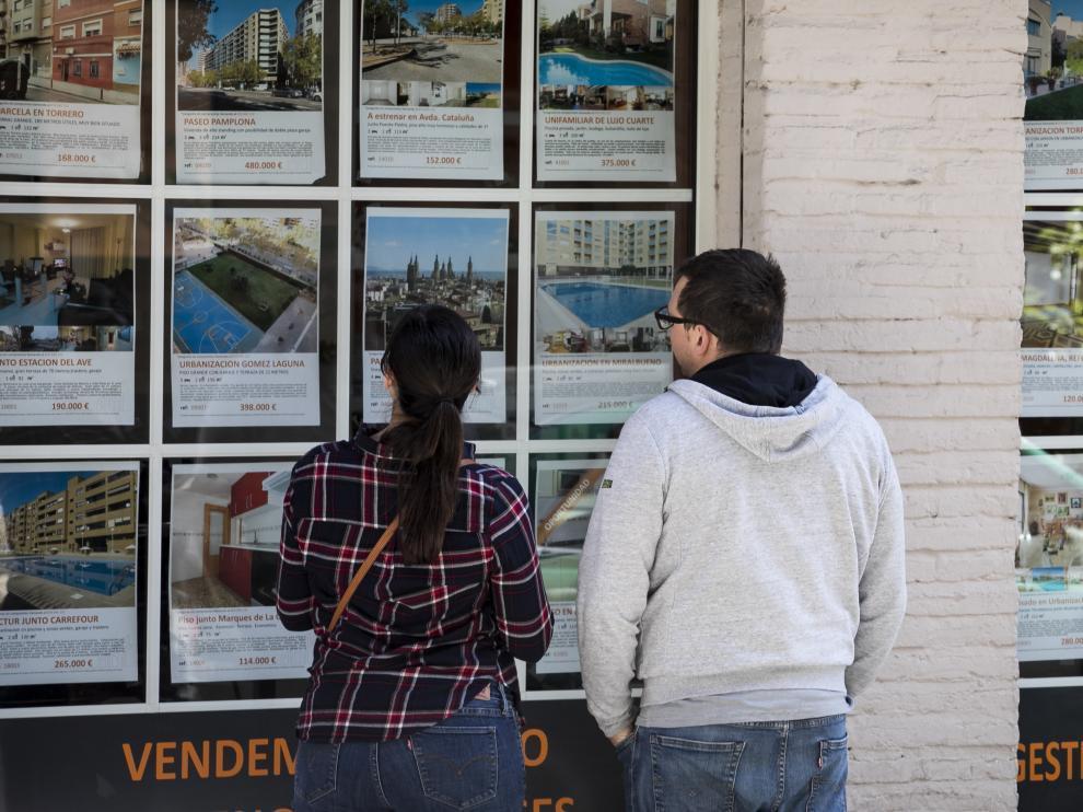 La subida de los precios de alquiler es una de las razones por las que protesta el Sindicato de Inquilinos e Inquilinas de Zaragoza