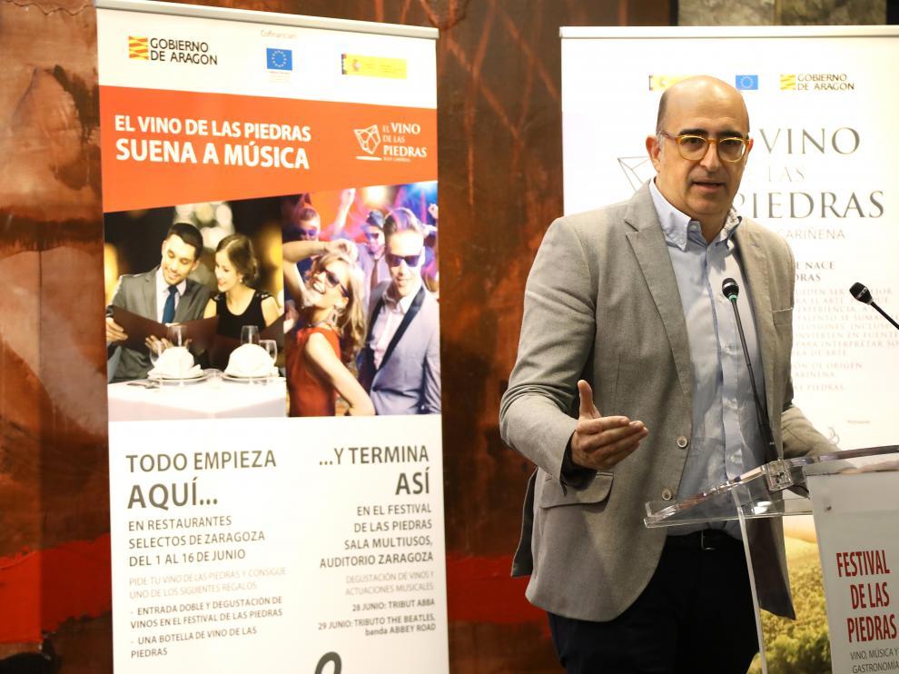 Luis Vaquer, presidente de Horeca Zaragoza.