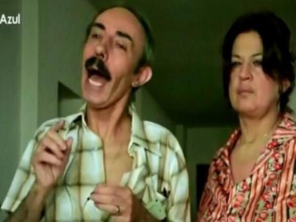 Fotograma de 'Verano Azul', con la actriz Ofelia Angélica, 'Nati', la madre de 'Piraña'.