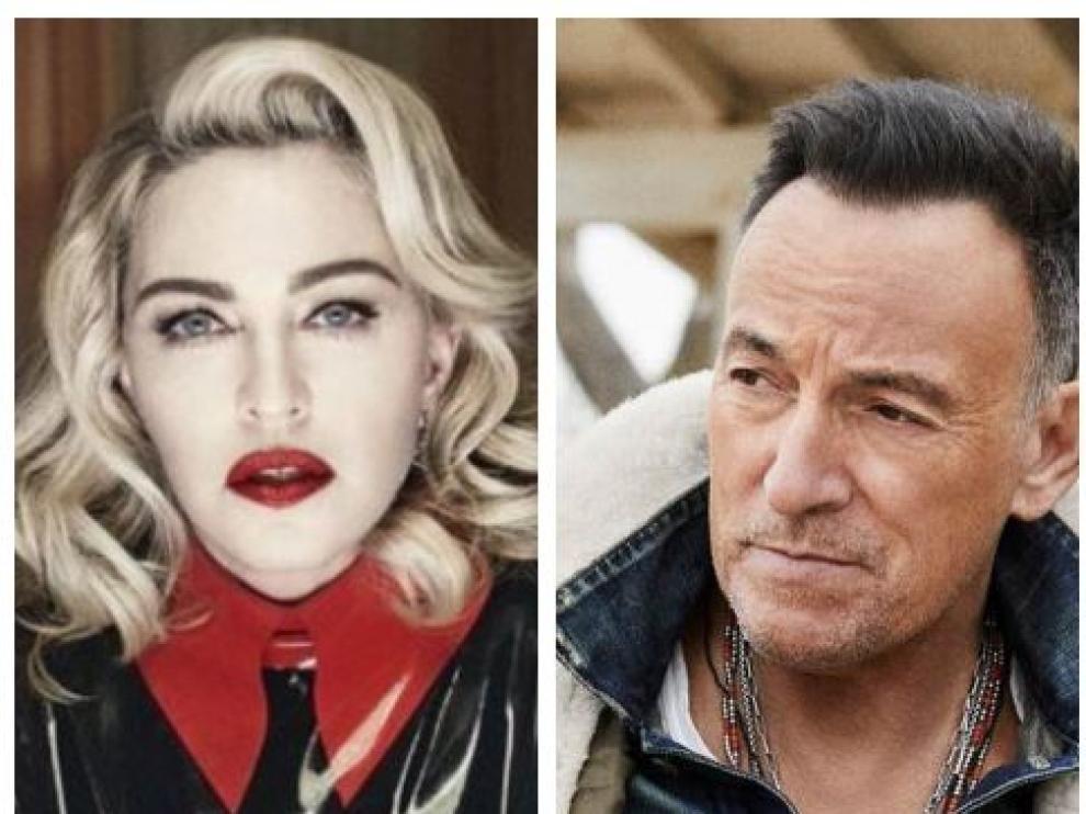 Madonna y Bruce Springsteen publican este viernes sus esperados nuevos trabajos