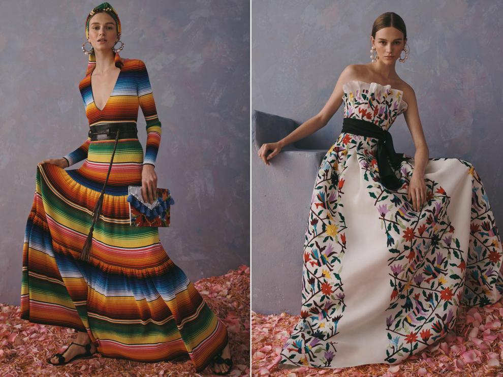 Fotografías facilitadas por la firma Carolina Herrera de su nueva colección.