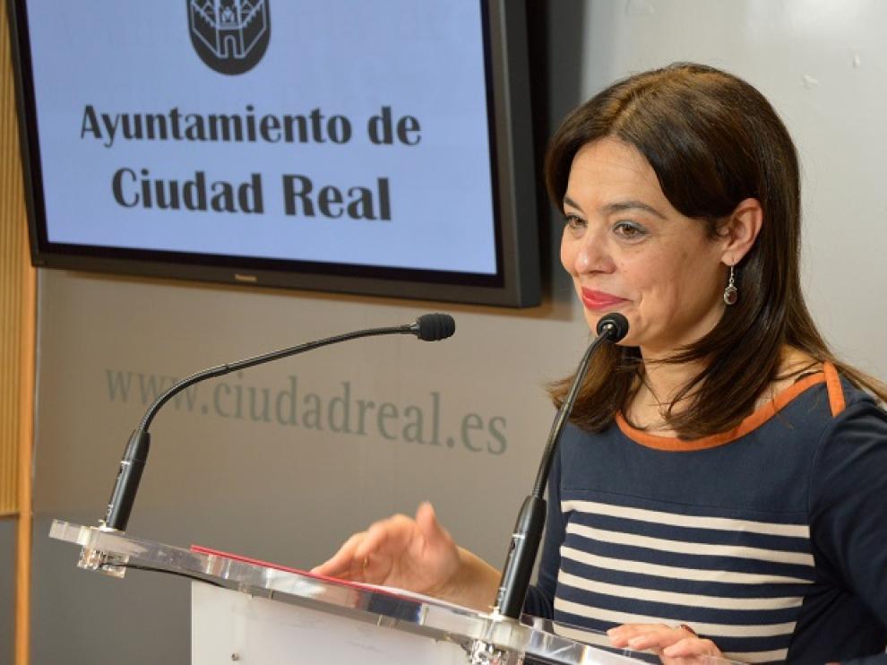 Pilar Zamora, la alcaldable del PSOE en Ciudad Real.