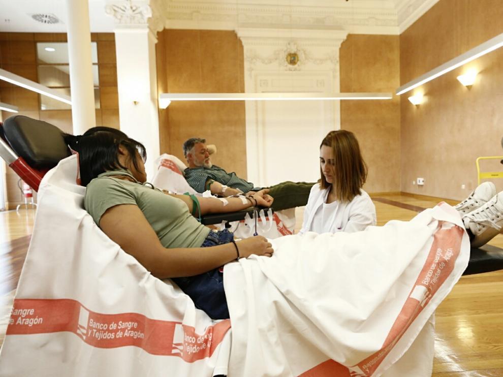 Donación de sangre este viernes en la sala Ricardo Magdalena de la DPZ