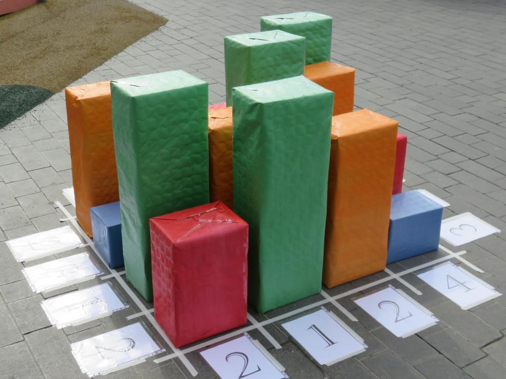 Elementos como este juego de los rascacielos estarán en el museo.