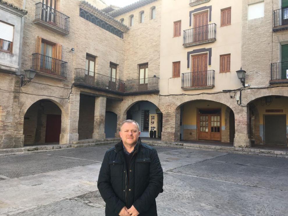 Eduardo Arilla, del PSOE, alcalde de Borja.
