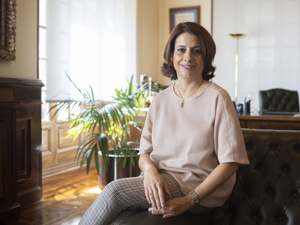 Emma Buj, alcaldesa de Teruel. foto Antonio Garcia/Bykofoto. 27/03/19 [[[FOTOGRAFOS]]]